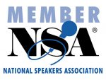 Proud Member of the National Speakers Association